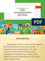 Housekeeping Section