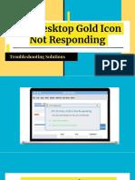 Easy solution for AOL Desktop Gold Icon Not Responding