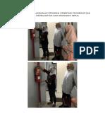8.1.8.6 Dokumentasi Pelaksanaan Program Orientasi Prosedur Dan Praktik Keselamatan Dan Keamanan Kerja