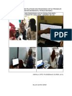 8.1.8.7 Bukti Pelaksanaan Pelatihan Dan Pendidikan Untuk Prosedur Baru