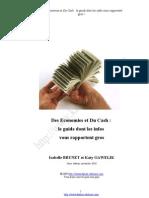 Des Economies et du Cash V3