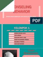 Ppt Konseling Behavior (Bismillah)