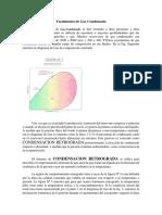 Concepto y división de yacimientos de gas condensado