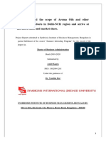 Soulflower_Aroma industry_ Final Report Ankit Kagra_consumer behavior