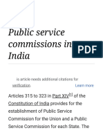 Public Service Commissions in India - Wikipedia