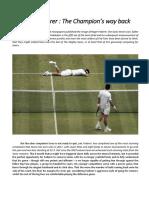 Roger Federer - The Champion's way back.pdf