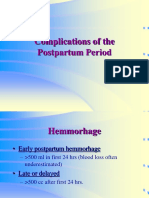 postpartum complications.ppt
