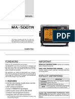 InstructionManual-MA500TR