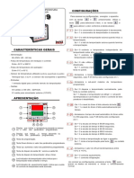 Manual eletrico Cabine