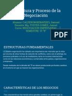 Estructura y Proceso de La Negociación