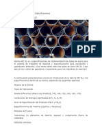 Tuberia Norma API 5L Especificaciones