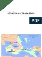 Region 4a- Calabarzon