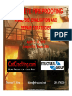 Concrete Fireproofing Analysis Evaluation and Repair Strategies