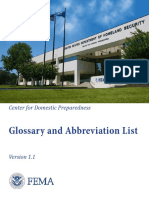 Glossary and Abbreviation List 1.1