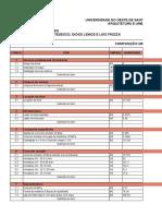 Tabela - Tecnologia da arquitetura II .xlsx