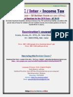 CA IPCC Inter Income Tax Revision - Kalpesh Classes.pdf