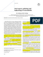Clinical Aspects, Pathology and Pathophysiology of Osteoarthritis