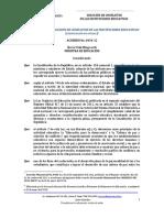 SOLUCION de CONFLICTOS CodificaciÓn Acuerdo 0434 12 Actualizado a 15 de Enero 2015(4)
