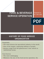 . Food and Beverage Service Operation Hi (1) [Autosaved]