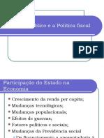 Introdução à Economia - Aula Unidade III - Setor Público e a Poítica Fiscal
