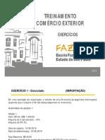 Comex - 2014 - 8. Exercicios e Gabarito - Versão Final 2014 - Rev