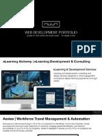 NUUN Digital - Web Development Portfolio - High Quality