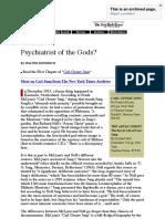 Psychiatrist of the Gods - Jung