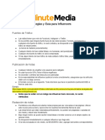 Minute Media Influencer Rules and Guidelines - ES.pdf
