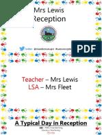 meet the teacher reception