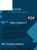 DADAISM by Nathalie Claire