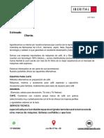 Catalogo Maquinas Agosto Iberital