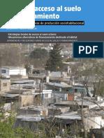 PDT y Gestión Del Suelo Urbano en La Ciudad de Venado Tuerto