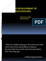 Cognitivedevelopmentofthepreschoolers