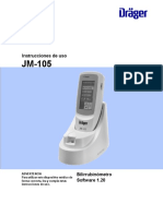 Bilirrubinometro Drager JM-105 (Español)