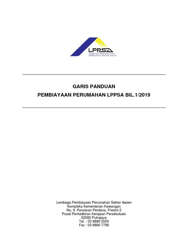 Garis Panduan Lppsa Bil 1 2019 V2