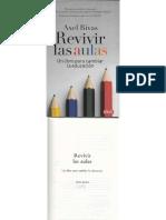 (2014) Axel Rivas Revivir Las Aulas Capítulo 7 Para Qué Ser Docente Hoy