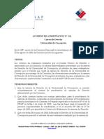 Documento acreditación Derecho UdeC 2006