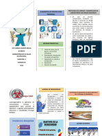 Folleto Bioseguridad en El Personal de Enfermeria