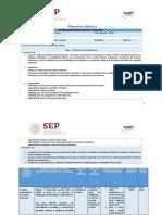 Planeación Didáctica UnADM Pensamiento Matemático y Social Unidad IV