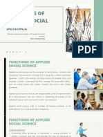 Lesson 17 Functions of Applied Social Science