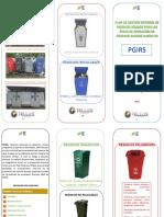 6.1 Folleto PGRS Residuos