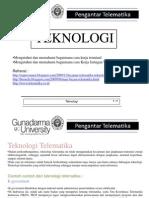 Teknologi Telematika Format Ppt