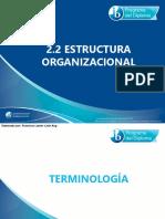 2 2 Estructura Organizacional
