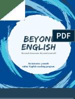 Nói tiếng anh như người bản xứ - Beyond English