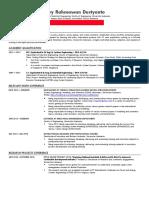 Teknik Menulis Curriculum Vitae (CV) Akademik untuk Mendaftar Program Master (S2) atau Doktoral (S3) Luar Negeri yang Efektif - Arry Rahmawan