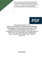 Estudio de Instalaciones Eléctricas Interiores