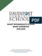 smart intermediate school band handbook 2019-2020