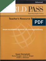 Teacher's Resource Book ADVANCED