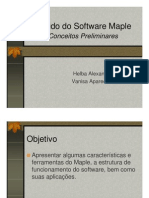Sobre o Maple