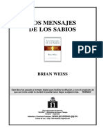 Weiss, Brian - Los Mensajes de los Sabios.PDF
